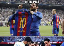 Enlace a Thiago Messi emula a Messi haciendo levitar objetos
