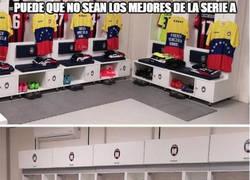 Enlace a Puede que no sean los mejores de la Serie A pero se han ganado a Venezuela