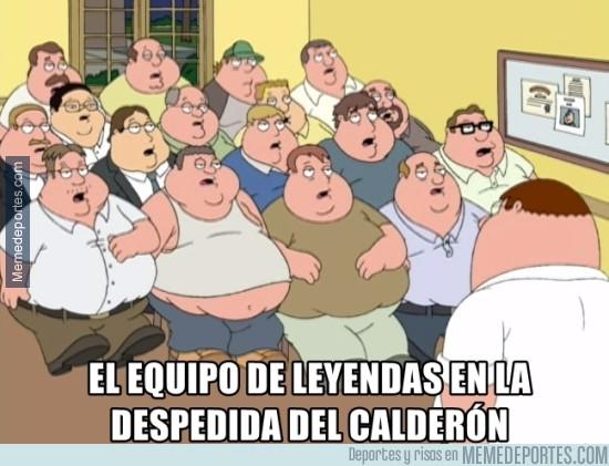 978658 - El equipo de leyendas en el Calderón