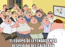 Enlace a El equipo de leyendas en el Calderón