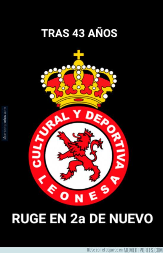978665 - ¡La histórica Cultural Leonesa vuelve a segunda!