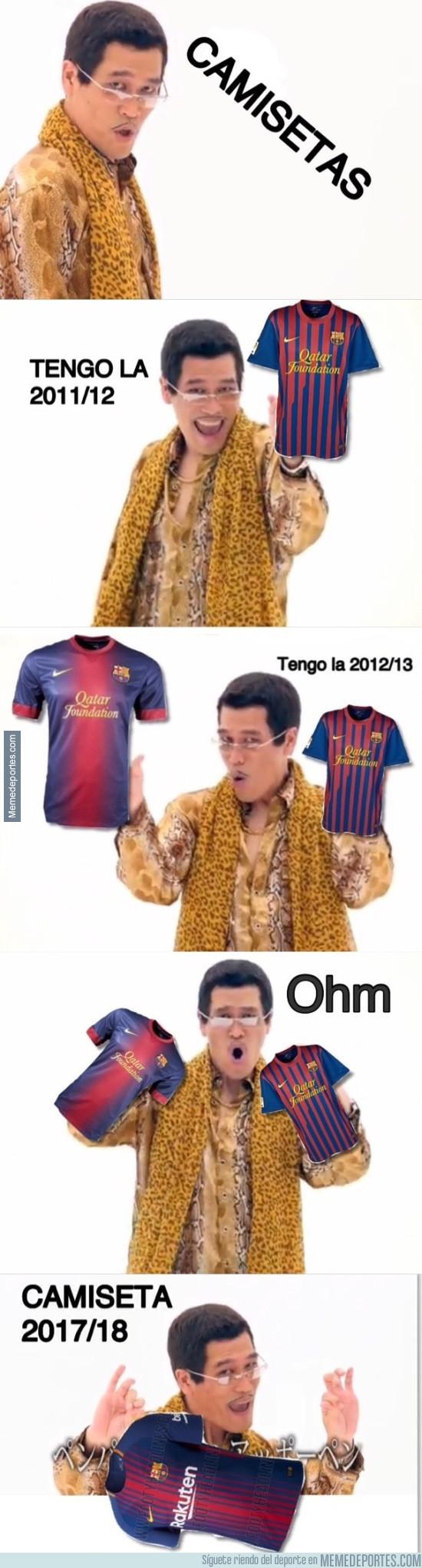 978742 - Explicación del proceso creativo de Nike creando la camiseta del Barça 2017/18