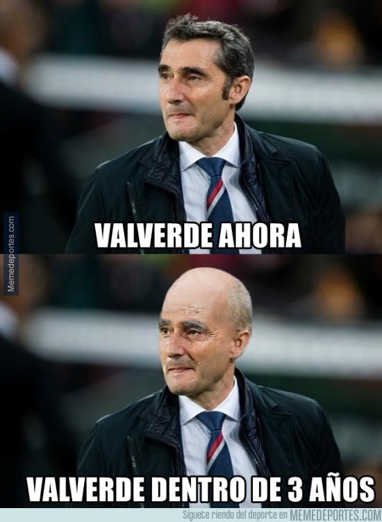 978757 - Valverde, nuevo entrenador del Barça, será así dentro de 3 años