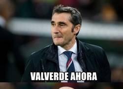 Enlace a Valverde, nuevo entrenador del Barça, será así dentro de 3 años