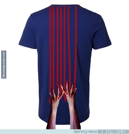 978825 - Crea tu propia camiseta del Barça. Versión Walking Dead