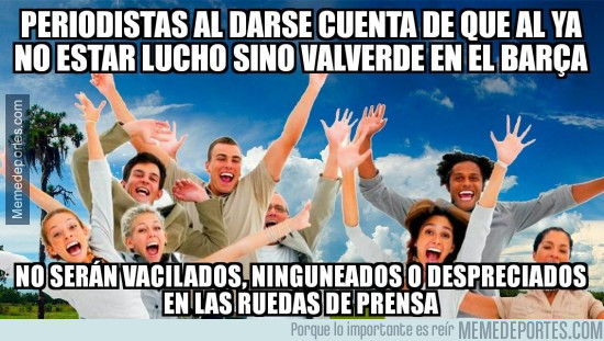 978994 - Valverde traerá paz y amor a las ruedas de prensa