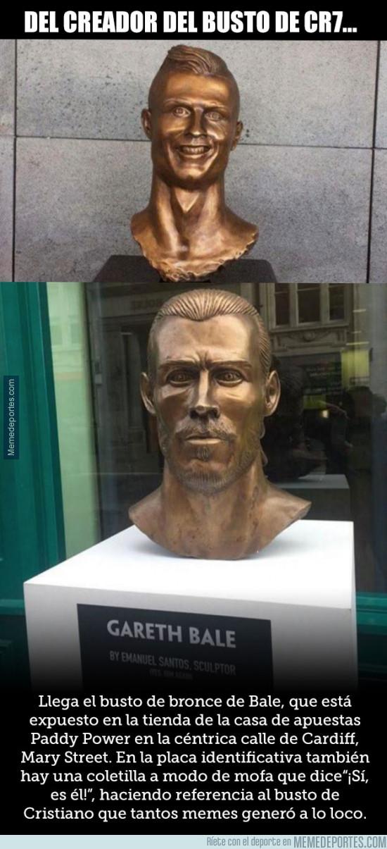 979007 - El autor del busto de Cristiano contraataca con uno aún más lamentable de Bale