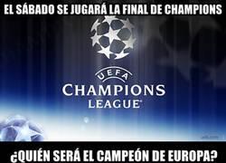 Enlace a ¿Quién será el campeón de la Champions?