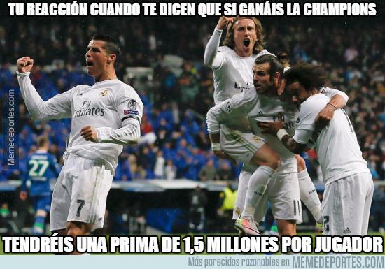 979153 - La increíble prima a los jugadores del Madrid si ganan la Champions