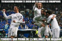 Enlace a La increíble prima a los jugadores del Madrid si ganan la Champions