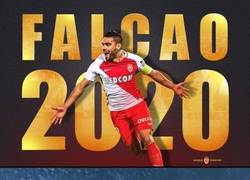 Enlace a Falcao renueva y se queda en el Mónaco