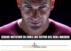 Enlace a Zidane vaticinó en 2003 los éxitos del Real Madrid y según esto, ganará la 12a