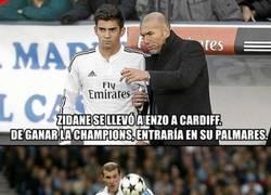 Enlace a Lo que ha hecho Zidane con su hijo es enchufismo puro y duro