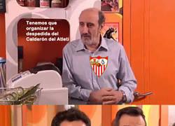 Enlace a Los equipos de Champions (+ infiltrados) despiden el Calderón con el pasaje de Champions del terror