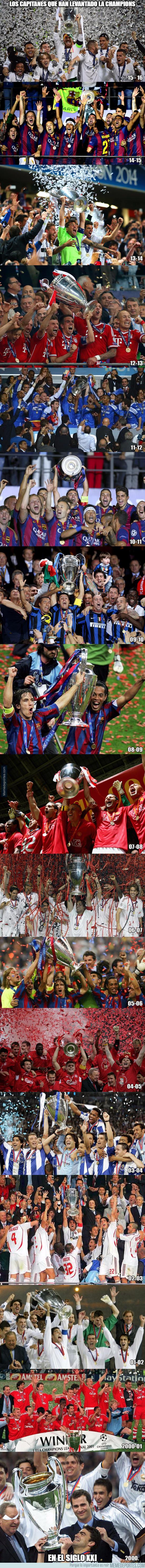 979434 - Todos los capitanes que han levantado la Champions en el siglo XXI