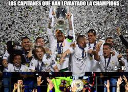 Enlace a Todos los capitanes que han levantado la Champions en el siglo XXI