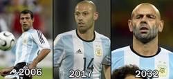 Enlace a Mascherano siempre convocado con Argentina