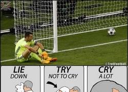 Enlace a Buffon se despide sin su Champions...
