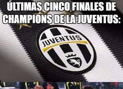 Enlace a Últimas cinco finales de Champions de la Juventus