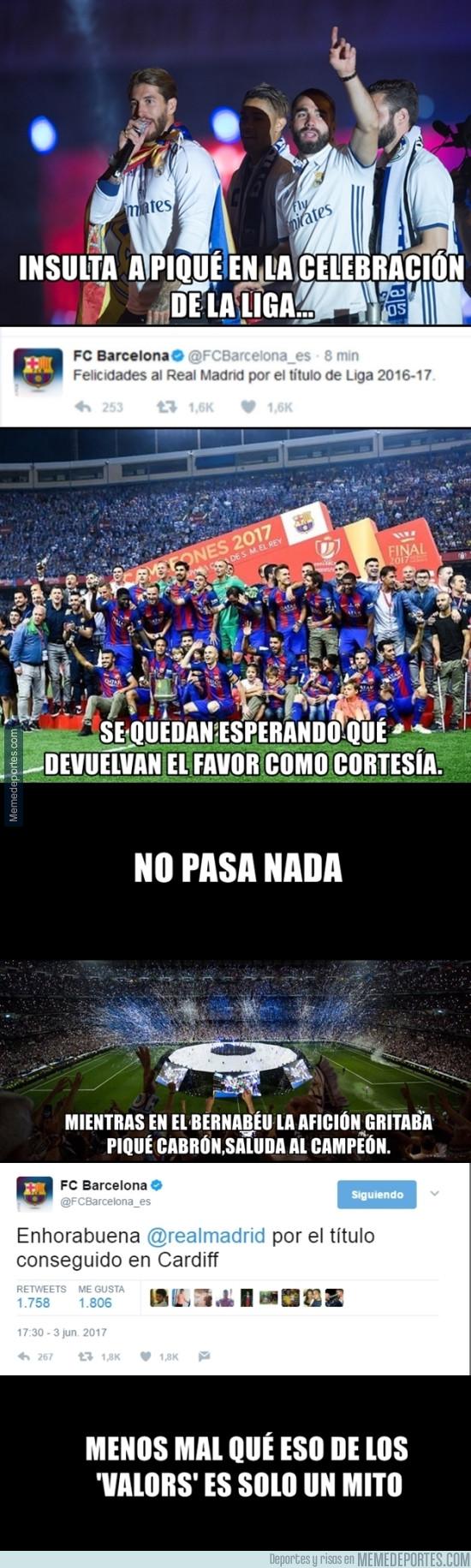 979765 - Felicidades al Madrid. Pero la actitud del Barça es para remarcar