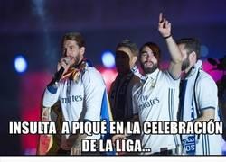 Enlace a Felicidades al Madrid. Pero la actitud del Barça es para remarcar