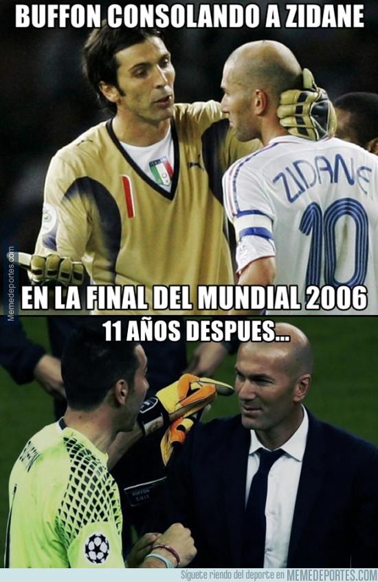 979774 - La historia de Buffon y Zidane