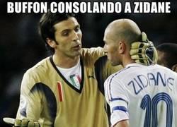 Enlace a La historia de Buffon y Zidane