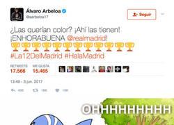 Enlace a Arbeloa la lía en Twitter con este mensaje sobre las Champions del Real Madrid