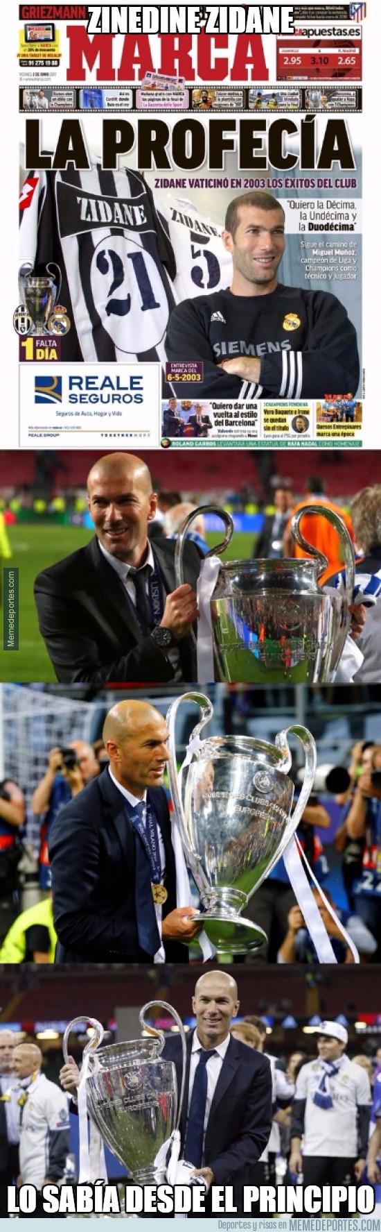 979912 - La entrevista a Zidane que predijo las Champions que ganaría con el Madrid