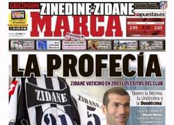 Enlace a La entrevista a Zidane que predijo las Champions que ganaría con el Madrid