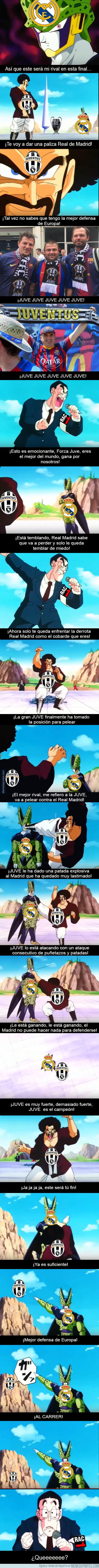 979961 - Juventus vs Real Madrid versión Dragón Ball