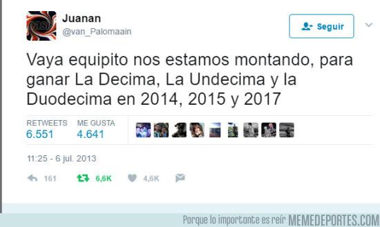 979994 - El tuit premonitorio sobre las Champions del RM de este chico que falleció en el tren de Santiago