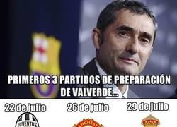 Enlace a La preparación de Valverde con 3 huesos esta pretemporada
