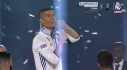 Enlace a Cristiano Ronaldo se canta a si mismo: