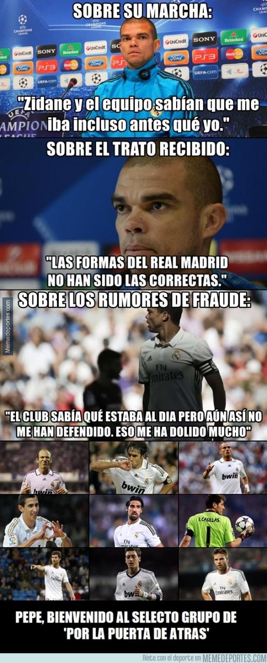 980521 - Amarga despedida de Pepe en el Real Madrid