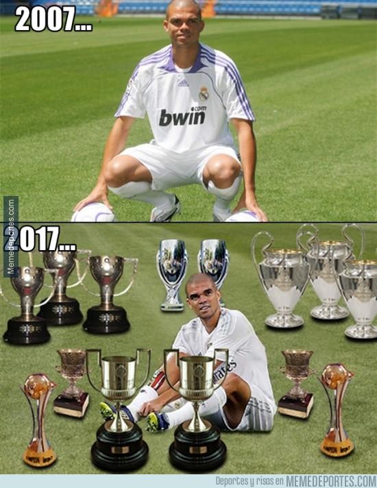 980532 - Los 10 años de Pepe en el Real Madrid llenos de gloria