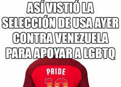 Enlace a Así es como se vistió ayer la selección de EEUU frente a Venezuela