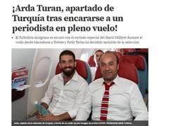 Enlace a Imágenes exclusivas de la pelea de Turan en el avión