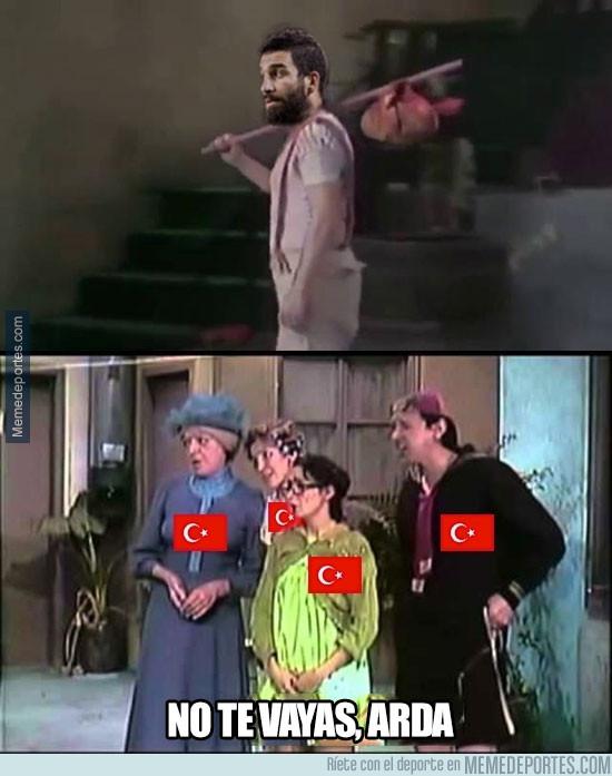 980654 - Arda Turan abandona la selección de Turquía