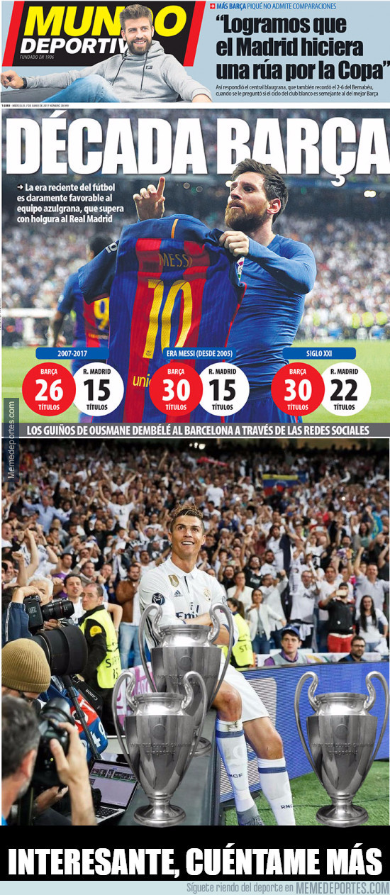 980686 - Cristiano Ronaldo no está de acuerdo con esa portada