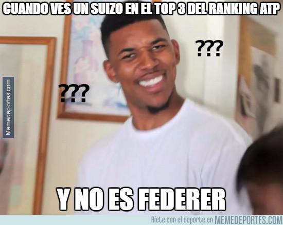980836 - Cuando ves un suizo en el top 3 del ranking ATP y flipas