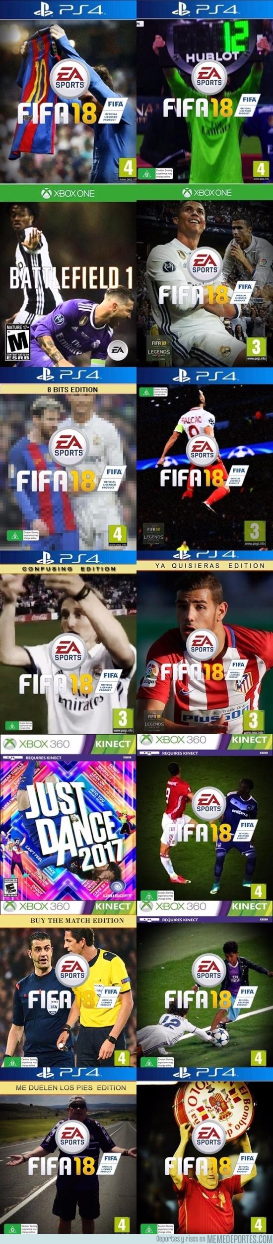 980912 - Ahora sí, el resto de portadas del FIFA por país