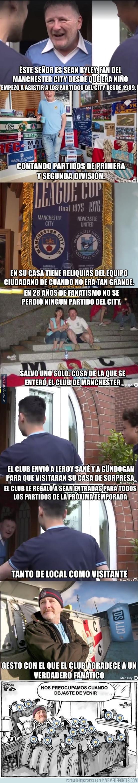 980929 - El aficionado más fiel del Manchester City