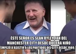 Enlace a El aficionado más fiel del Manchester City
