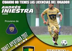 Enlace a En Centroamérica hay un jugador llamado Andrés Iniestra. Vivir para creer