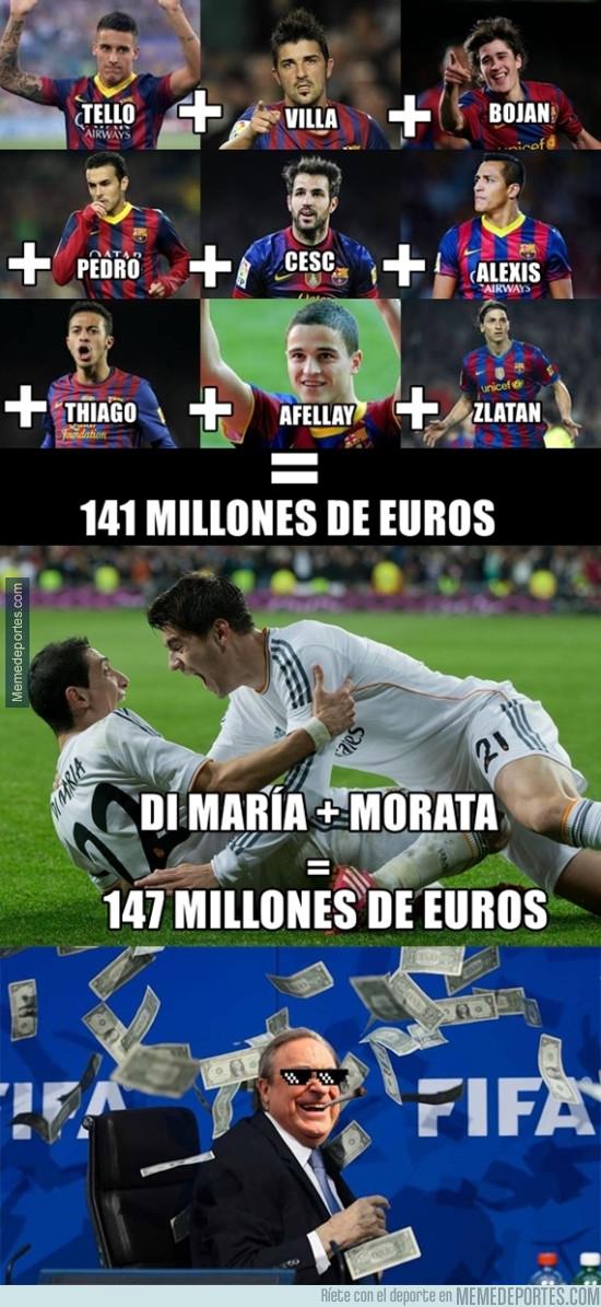 981112 - Vas a alucinar con esta comparación entre las ventas del Barça y Madrid