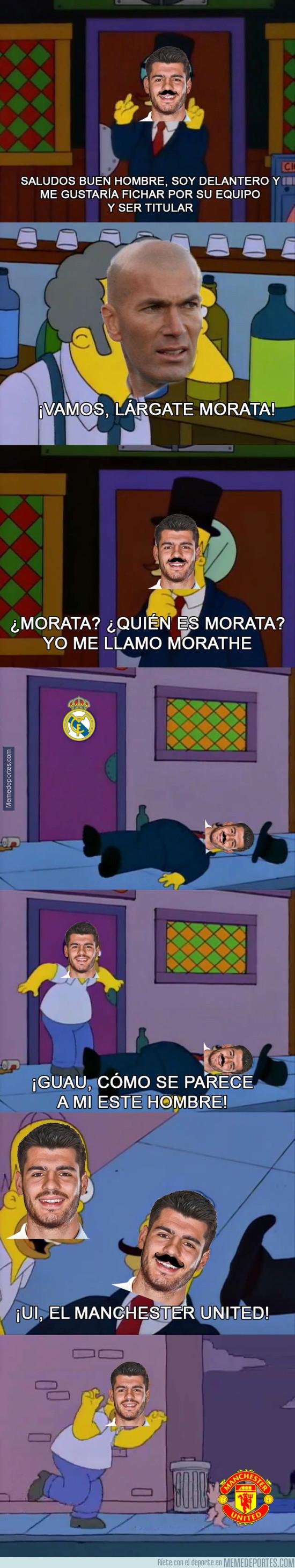 981196 - Situación actual de Morata en el Real Madrid