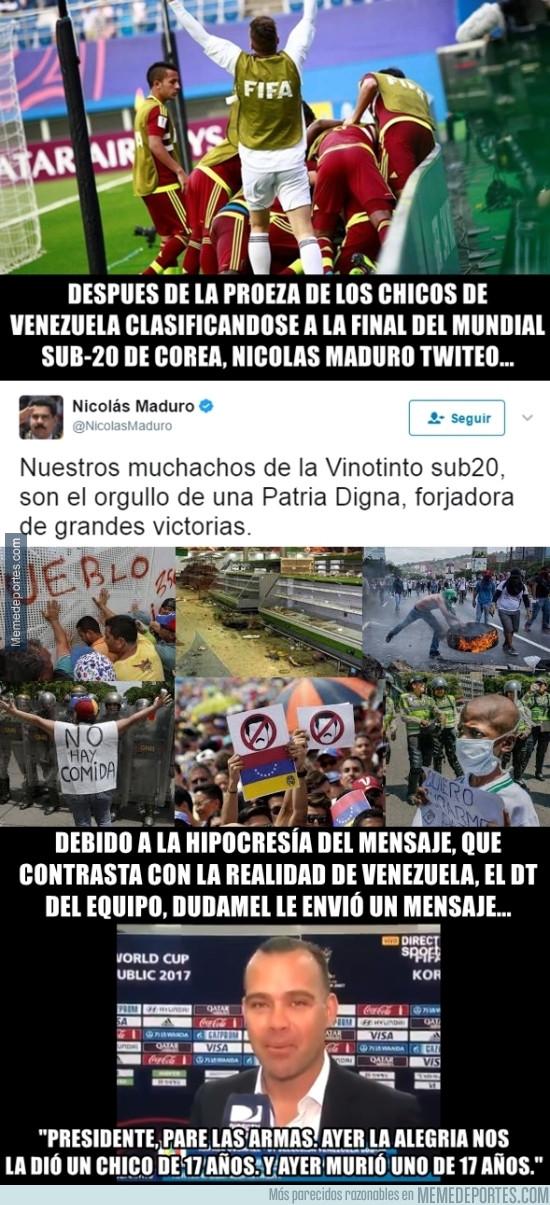 981287 - Nicolás Maduro se mete en el deporte y le cae un ZAS antológico