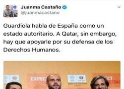 Enlace a El tremendo ZASCA de Juanma Castaño al Guardiola independentista