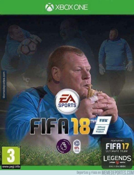 981482 - La portada del FIFA 18 será para una leyenda del fútbol